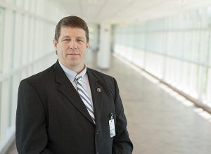 John DeSilva, School of Medicine Emergency Preparedness, Response and Security Coordinator