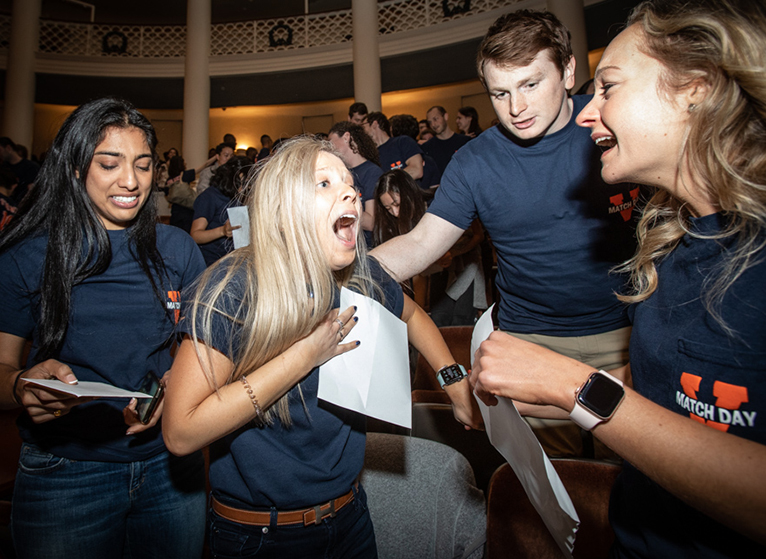 138 Photos: Our Medical Students Match on Match Day 2019