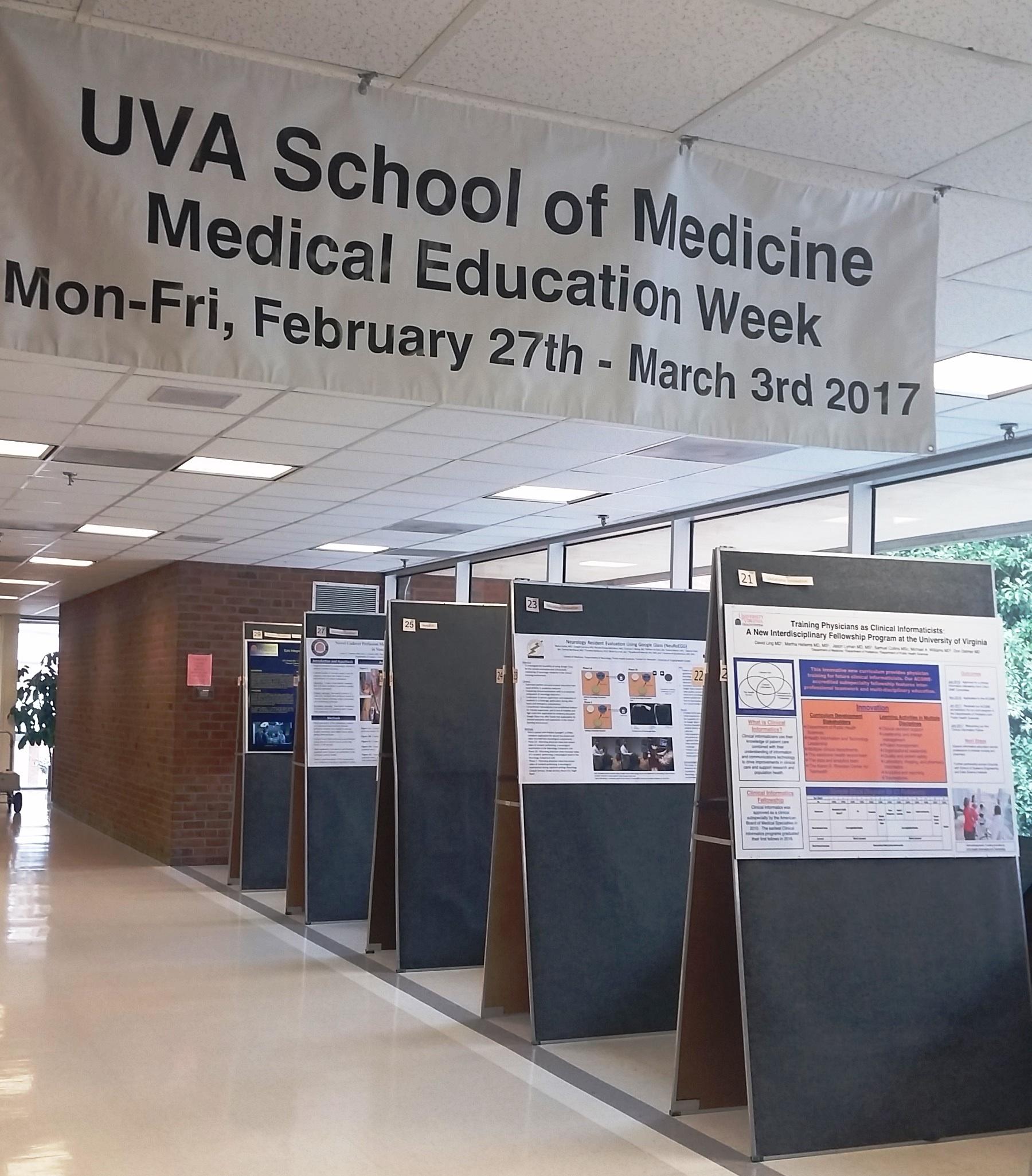 Medical Education Week 2018 - Faculty Development Blog