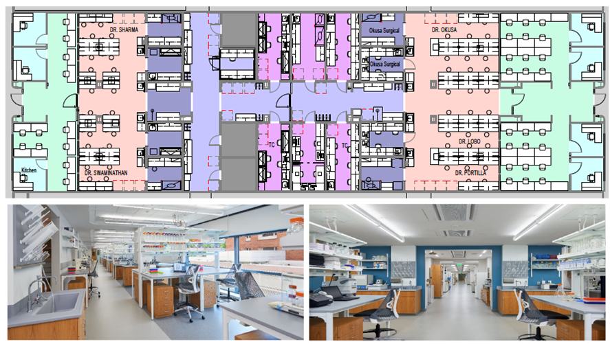 New Research Laboratory Space Planned for the Division of