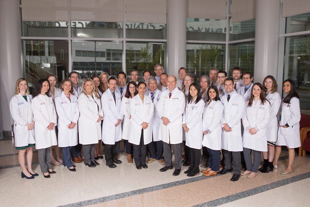 Division of Hematology/Oncology – Faculty, APPs and Fellows