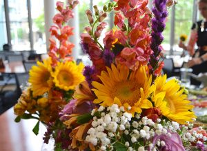 Convocation Flower Arraignment