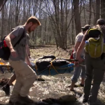Rescue in the Appalachians: Students in Wilderness Medicine Course