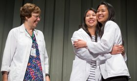 Class of 2021 Don Their White Coats for the First Time