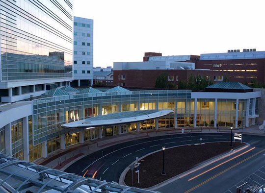 University of Virginia Health System in Charlottesville, Virginia.