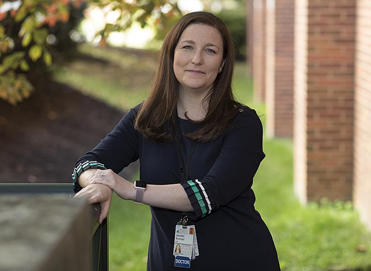Jennifer Burnsed, MD (Photos by Dan Addison)
