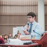 Photo: UVA Medical Student speaking