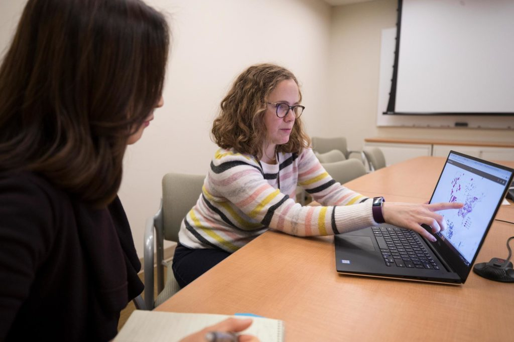 Photo: Jennifer Lobo, an assistant professor of biomedical informatics, was part of a team that studied the impact of Medicaid expansion both inside and outside the Diabetes Belt.