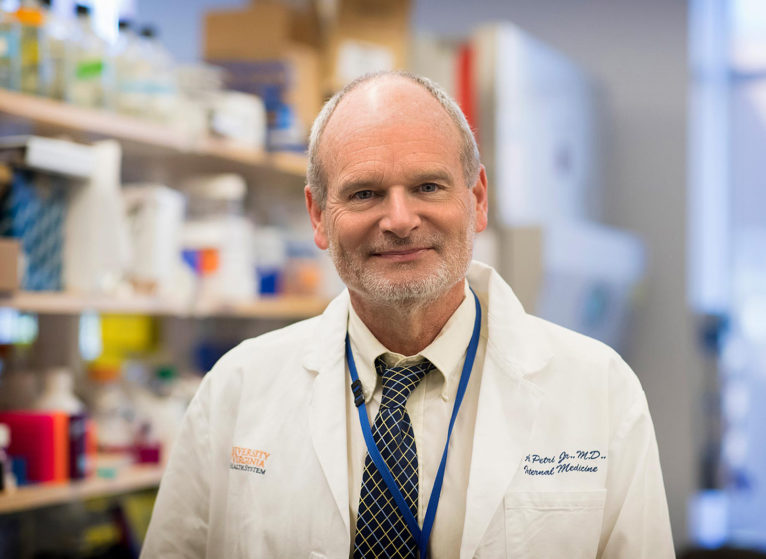 Dr. William Petri specializes in biotechnology, immunology and infectious diseases. (Photo by Dan Addison, University Communications)