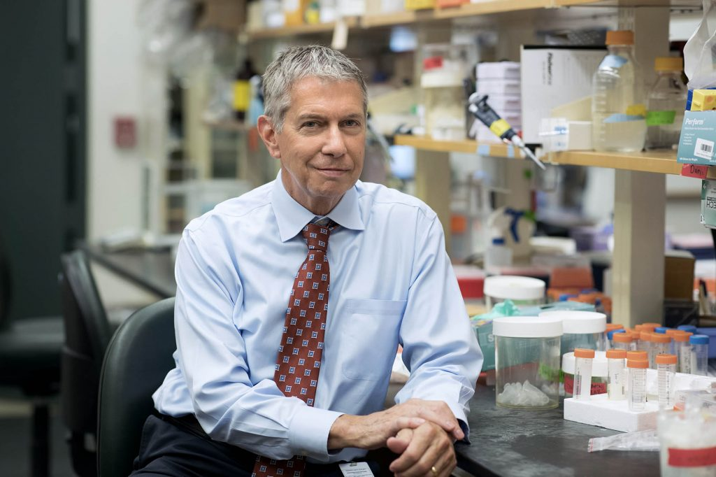 Gary K. Owens is the head of UVA's Robert M. Berne Cardiovascular Research Center. (Photo by Dan Addison, University Communications)