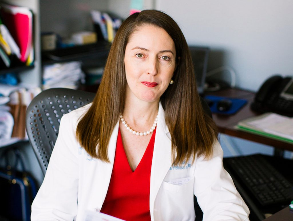 Melina R. Kibbe, MD, has been named dean of the School of Medicine and chief health affairs officer for UVA Health. Photo by Jeyhoun Paul Allebaugh. UNC-Chapel Hill.